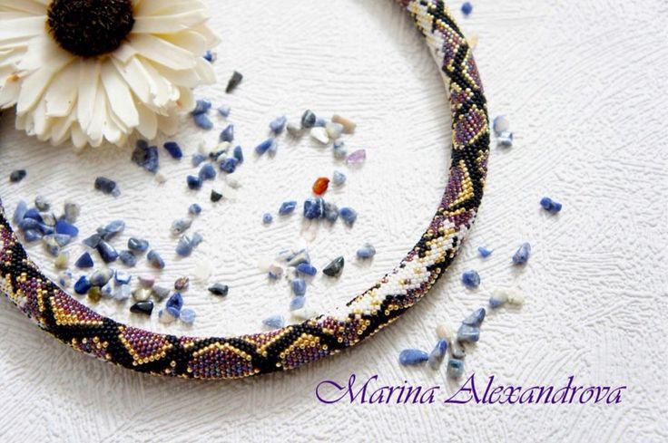 https://vk.com/club117231345  #жгут #из #бисера  #украшения #бижутерия #ручная #работа #handmade #bracelet #bead #crochet #rope #beadwork #схема