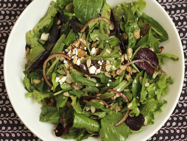 All recipes salad spinach apple