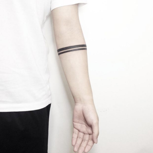 These Minimal Geometric Tattoos Will Make You Want To Get Inked - UltraLinx