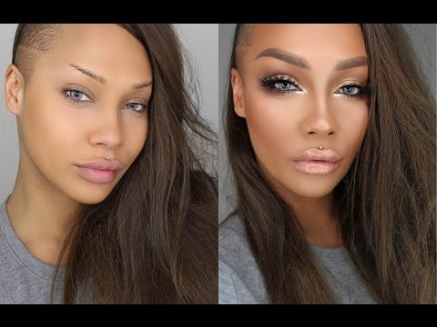 Love this girl and her makeup! START TO FINISH GLAM BIG EYES CONTOUR HIGHLIGHT | SONJDRADELUXE - YouTube