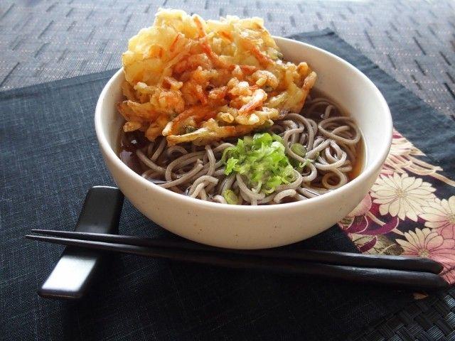 """""""Tenpura-soba"""" 天ぷら蕎麦"""