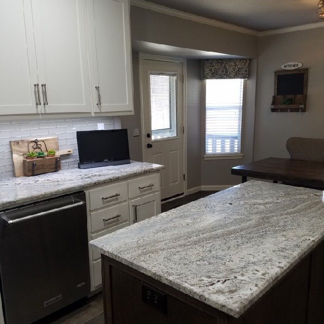 Nevaska Granite Home Countertop In 2019 Kitchen Cabinets