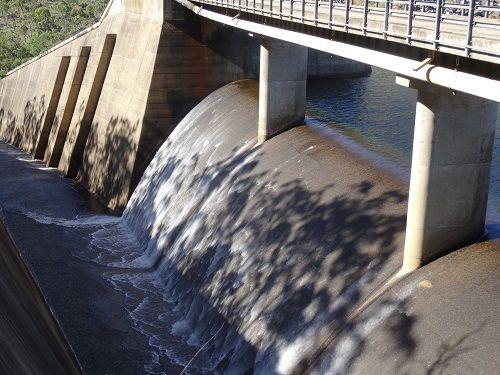 Eungella Dam spillway #spillways #eungelladam #queensland