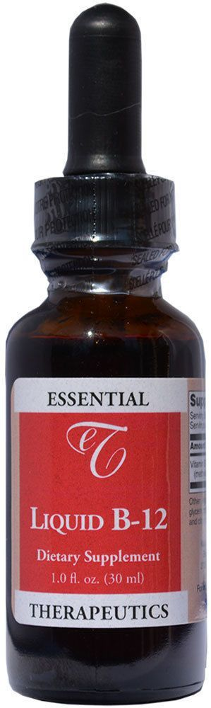 Essential Therapeutics Methylcobalamin Liquid Vitamin B-12 (1 Fl Oz.) 1000 Mcg