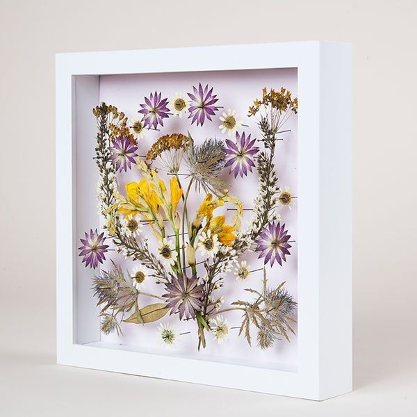 Pressed Wedding Flowers: 27 Best Preserved Wedding Bouquet In Shadow Box Frame