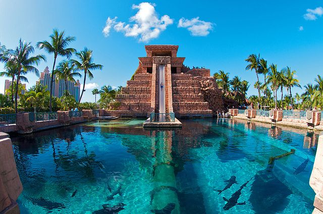 Atlantis, Nassau, Bahamas. Been there but didn't do this. Want to go back.