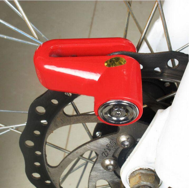 Nouvelle arrivée 3 couleurs disponibles Scooter vélo sécurité antivol disque Disc vélo moto disque de frein de verrouillage BLK052
