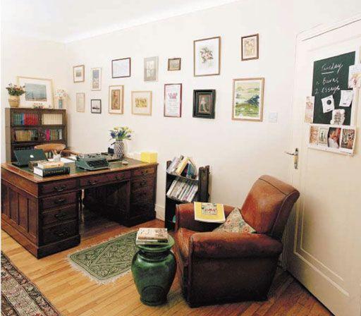 Writer's room: Andrew O'Hagan Photo: Eamonn McCabe