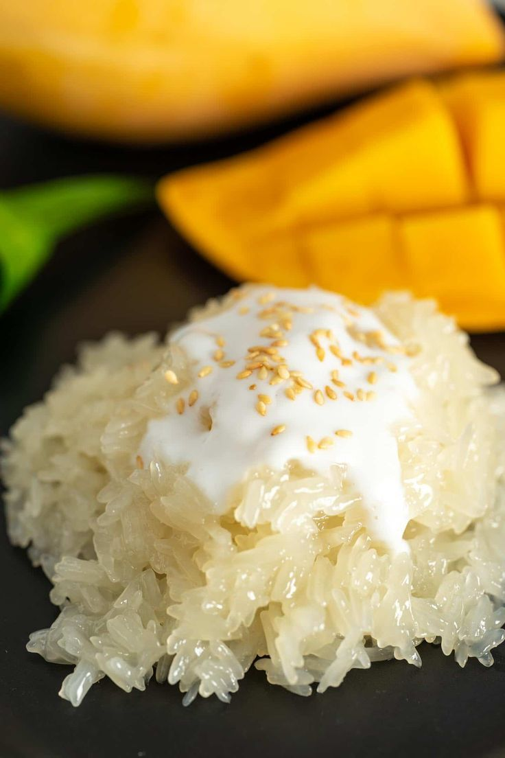 Mango Sticky Rice Authentic Thai Dessert Recipe Cooking With Nart Recipe Mango Sticky Rice Mango Sticky Rice Recipe Recipes
