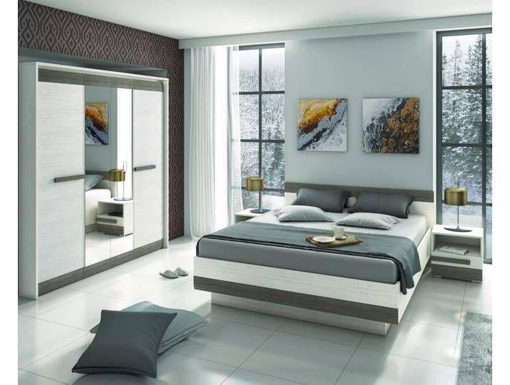 Schlafzimmer Komplett Set G Knoxville 4 Teilig Farbe Kiefer