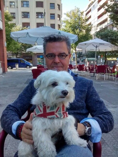 Con Max en Bilbao
