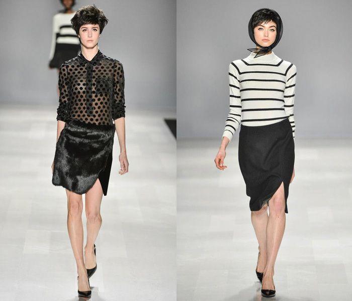Joe Fresh 2013-2014 Fall Winter Womens Runway Collection - World MasterCard Fashion Week Toronto, Ontario, Canada