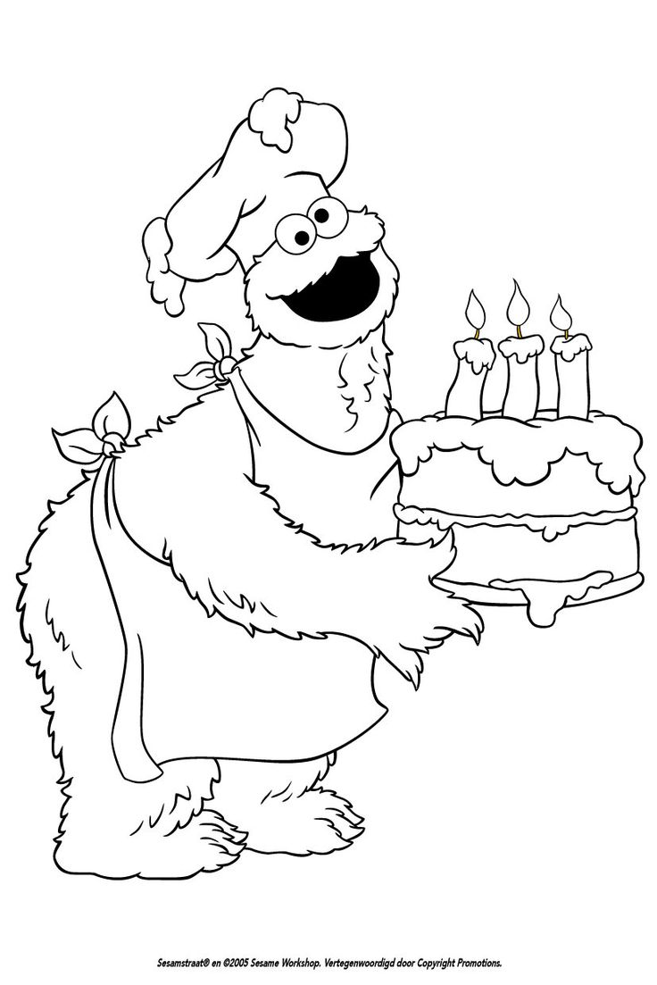 21 best coloring pages sesame street images on pinterest