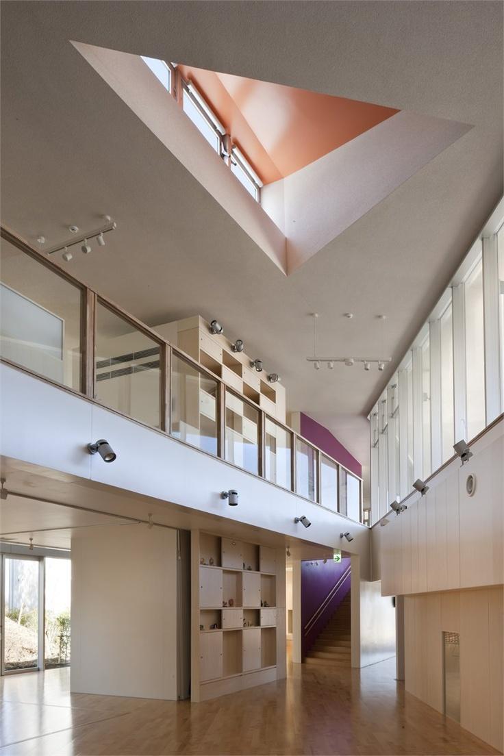 Matsuigaoka Nursery School, #Matsuigaoka, 2010 By Koseki Architects Office # Architecture #japan