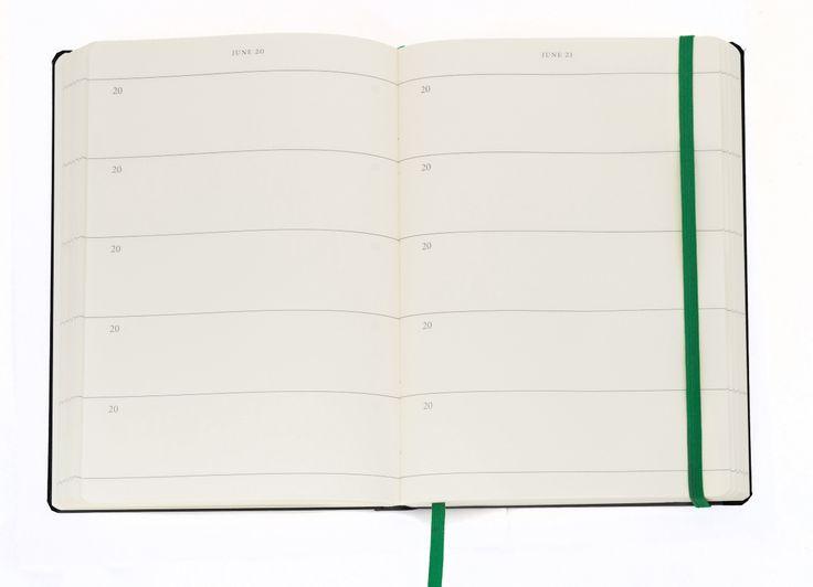 5-års dagbog indvendigt. Smart, ikke?