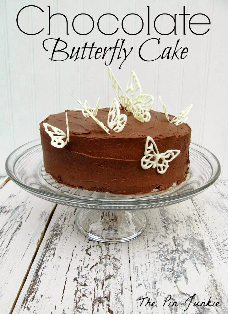 Chocolate Butterfly Cake Birthday Festive Cakes Other Than