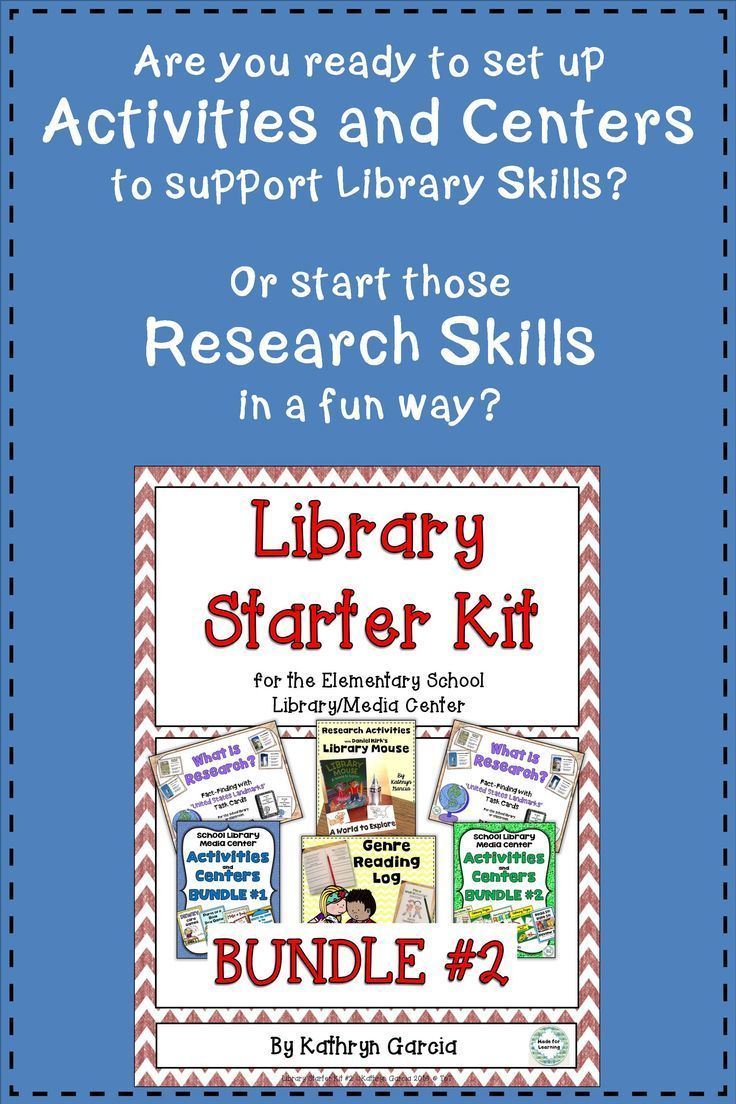 Independent Or Small Group Centers And Activities Are Ready To Go In This Saving Bundle Research Wit Library Skills Elementary School Library School Library Ready to go fall literacy pack