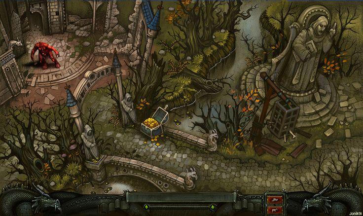 Art for game. Neutral terrain. by Jonik9i.deviantart.com on @deviantART