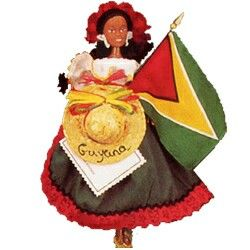Guyana Flag Doll