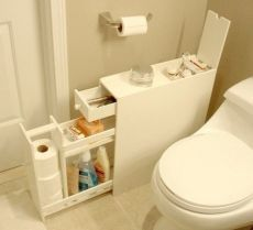 Шкафчик для ванной комнаты своими руками