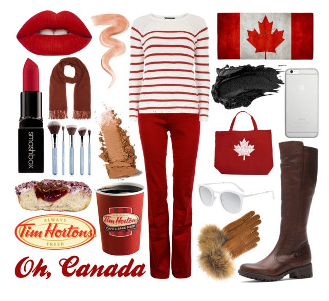 """Canada"" by adsouza614 ❤ liked on Polyvore featuring Santana Canada, The Seafarer, Dorothy Perkins, Lime Crime, Smashbox, Jane Iredale, Urban Decay, Acne Studios, FRR and Native Union"