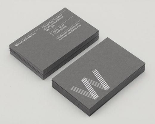 Foil stamped business card, foil blocking (34)