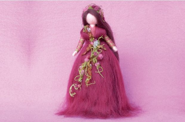 Picture of How to Make a Magic Wool Autumn Fairy