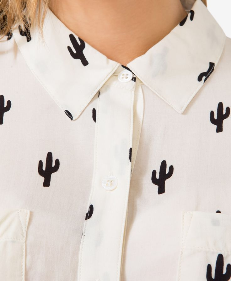 Cacti Print Shirt