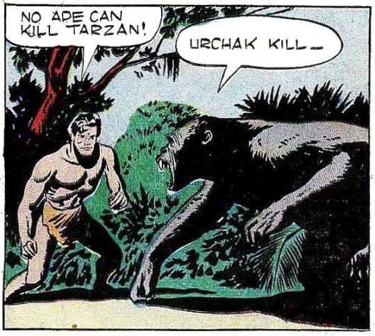 Jesse Marsh Illustrations   https://www.darkhorse.com/Books/15-793/Edgar-Rice-Burroughs-Tarzan-The-Jesse-Marsh-Years-Volume-1-HC