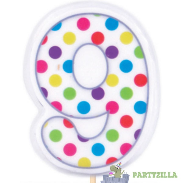 7 best number 7 cakes images on pinterest birthdays for Polka dot party ideas