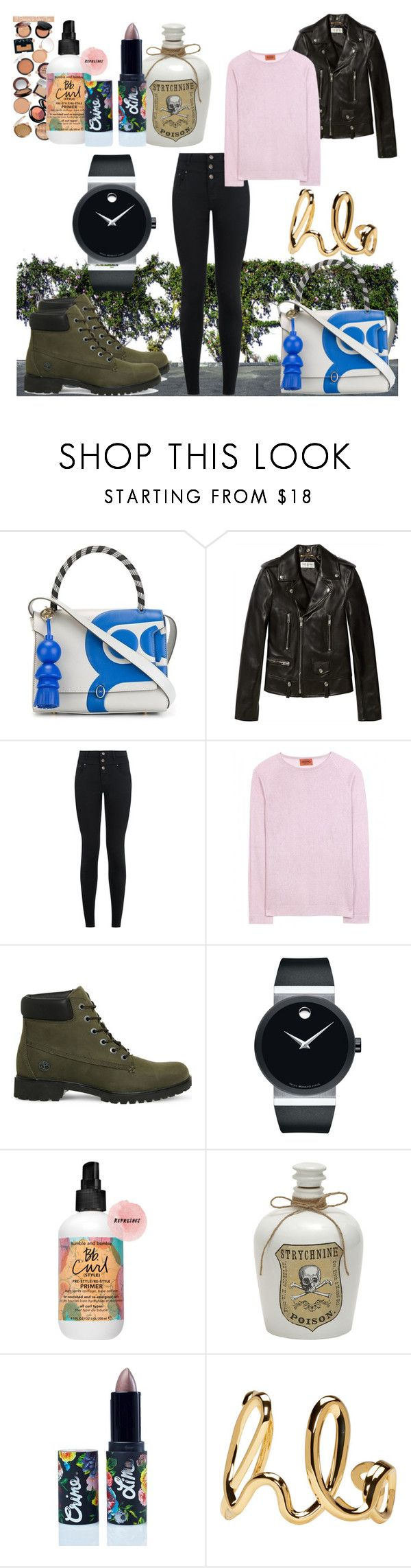 """I want you to swear that..."" by black-wings ❤ liked on Polyvore featuring Anya Hindmarch, Yves Saint Laurent, New Look, Missoni, Timberland, Movado, Lime Crime and Chloé"
