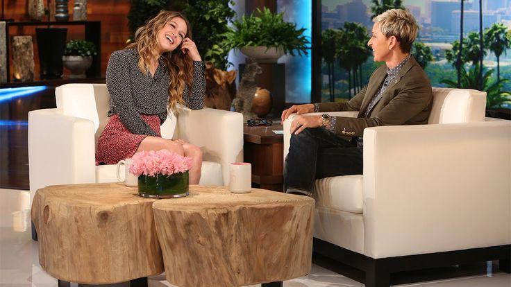 Melisa Benoist (Supergirl) on The Ellen Show