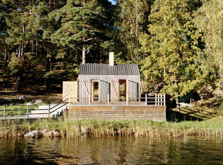 General Architecture Private Sauna in Sweden, Remodelista