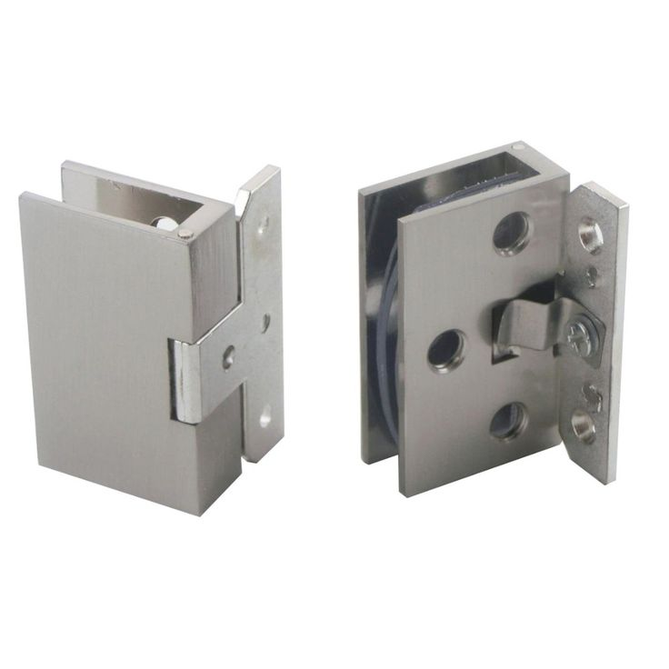 2pcs cabinet wall to glass door hinge clamps fit 810mm shower glass hinge clips