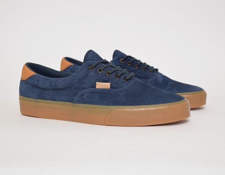 #Vans Era 59 CA Gum Navy #sneakers
