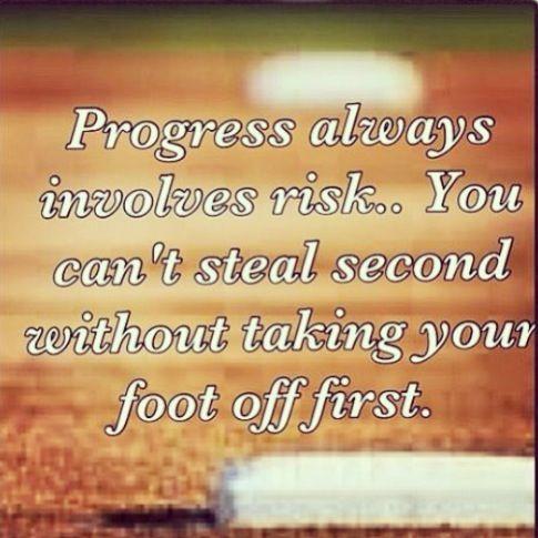 Favorite softball quote!!!