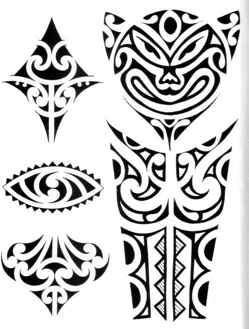 polynesian designs and patterns | Maori Da Braccio Tatuaggi Tattoo