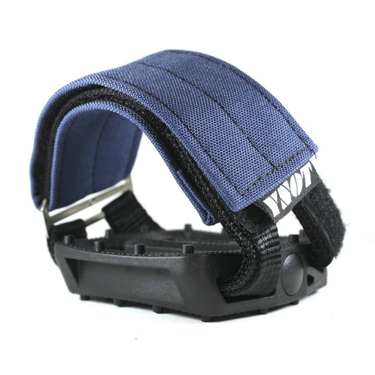 YNOT Cycle | Pedal Straps - Cobalt Blue