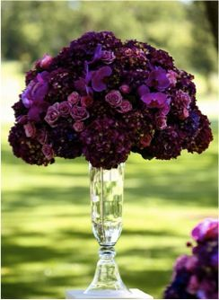 Stunning purple florals in this season's hottest shade - Radiant Orchid