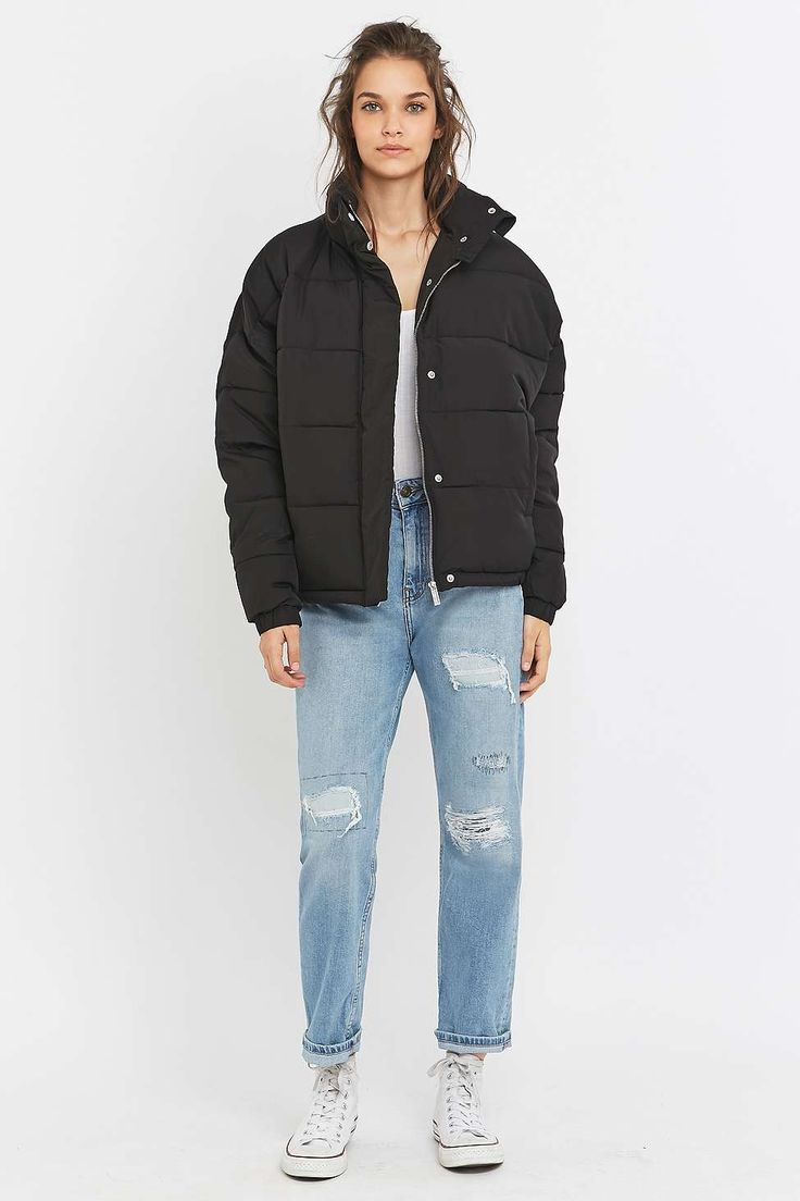 Light Before Dark Cropped Puffer Jacket Clothing