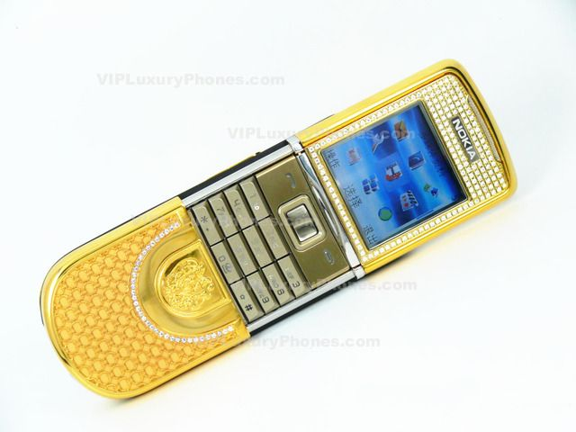 Nokia 8800 Sirocco Sayn Design Limited Gold Mobile-Cell phone