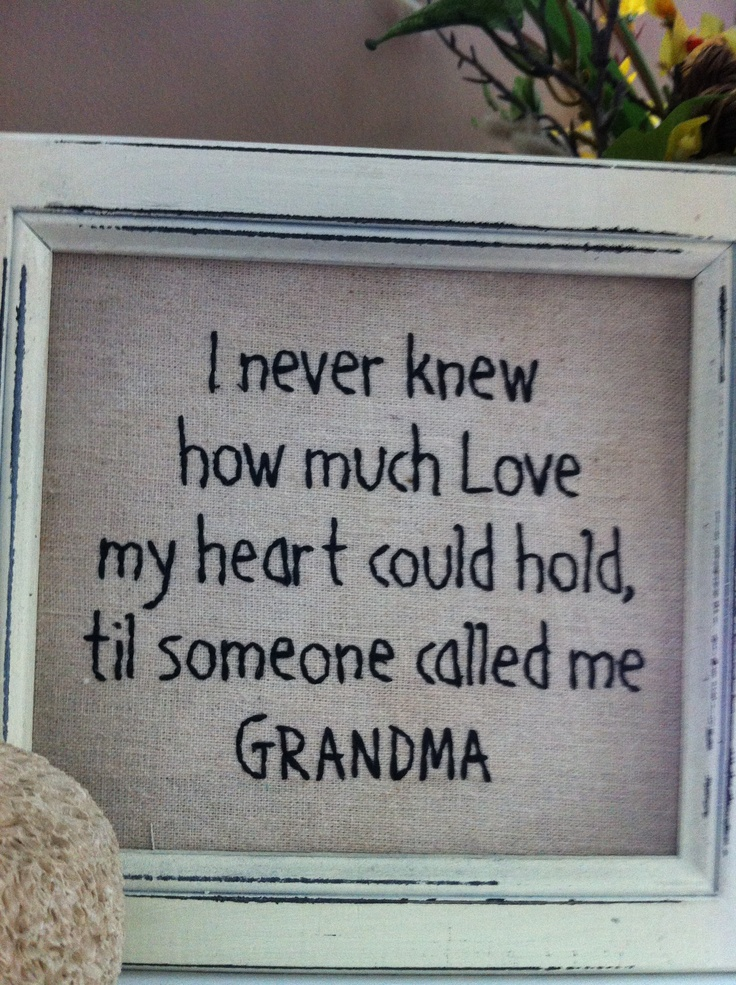 First time grandmother