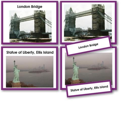 Famous Landmarks for Kids