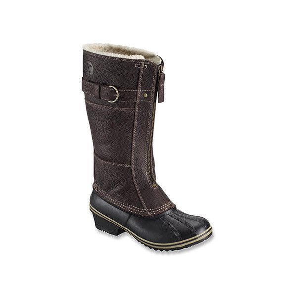 SOREL Winter Fancy Tall II Boots ($96) ❤ liked on Polyvore featuring shoes, boots, men, fancy boots, sorel, cold weather waterproof boots, winter boots and knee high waterproof boots