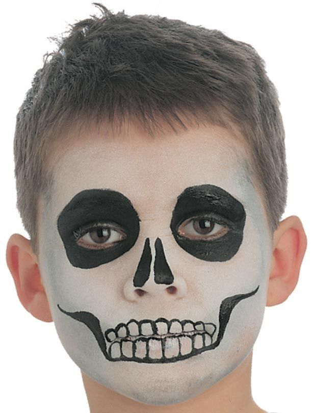 Skeleton face paint - goodtoknow