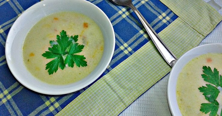 Busy mum's notes: #Rice and salami #soup with #cheese triangles