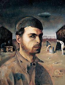 Felix Nussbaum — Autoportrait « Si je sombre, ne laissez pas mes peintures me suivre, mais montrez-les aux hommes. »