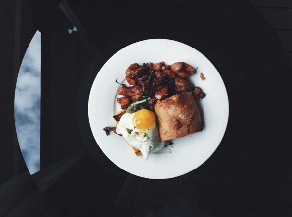 Chicago, meet the @nicoosteria breakfast sandwich -- which you can now enjoy from bed.