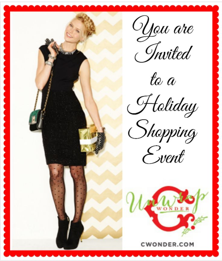 Charleston C. Wonder #UnWrapWonder Holiday Event December 12th 4:00-6:00pm.  Join us.  Giveaway, Sips and Sweets, 30% OFF your Holiday List. @C. Wonder