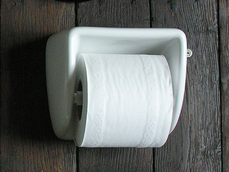 Loo Roll Holder Porcelain Bathroom Loo Roll Holders